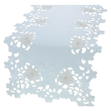 Xia Home Fashions Daisy Divine Table Runner