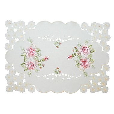 Xia Home Fashions Bloom Placemat (Set of 4)