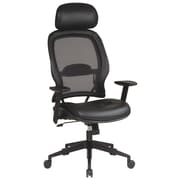 Office Star Space 32.75'' Chair with Eco Leather Seat and Adjustable Headrest