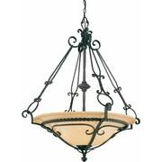 Volume Lighting Sevila 4 Light Bowl Pendant