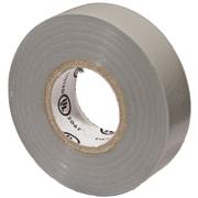 MorrisProducts PVC Vinyl Plastic Electrical Tape; Gray
