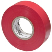 MorrisProducts PVC Vinyl Plastic Electrical Tape; Red