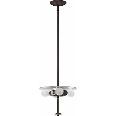 Volume Lighting Esprit 4-Light Mini Pendant; Antique Bronze