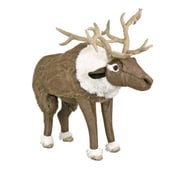 Queens of Christmas Arctic Reindeer Ottoman