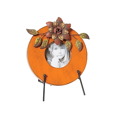 Wilco Home Round Picture Frame w/ Easel