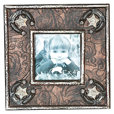 Wilco Home Wood Western Picture Frame