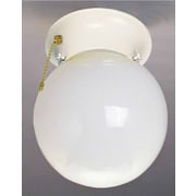 Volume Lighting 1 Light Ceiling Fixture Flush Mount