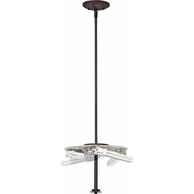 Volume Lighting Esprit 4-Light Mini Pendant; Antique Bronze