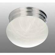 Volume Lighting Minster 1 Light Ceiling Fixture Flush Mount