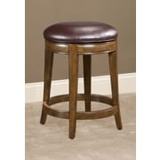 Largo Trevor Swivel Bar Stool with Cushion; 24''