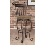 Largo Beau 30'' Swivel Bar Stool with Cushion