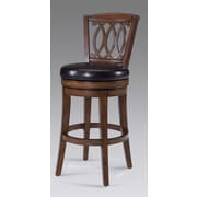 Largo Paris Swivel Bar Stool with Cushion; 30''