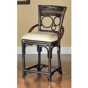 Largo Turk's Isle Bar Stool with Cushion; 24''