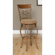 Largo Ellen Swivel Bar Stool with Cushion; 30''