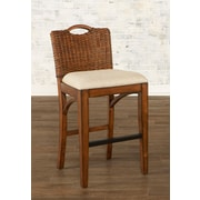 Largo Bali Bar Stool with Cushion; 30''