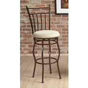 Largo Eliza Swivel Bar Stool with Cushion; 30''