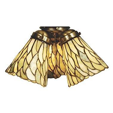 Meyda Tiffany 5'' Jadestone Bell Fan Fitter Shade