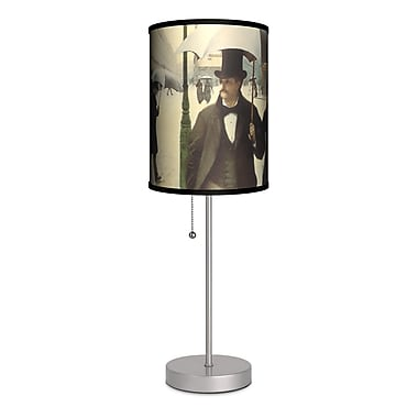 Lamp-In-A-Box Gustave Caillebotte ''Paris Street'' 20'' Table Lamp