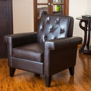 Home Loft Concept Salerno Button Tufted Club Chair