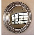 Reflecting Design Dorian 24 Convex Wall Mirror; Bone White