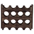 Urban Trends 8 Bottle Tabletop Wine Rack; Brown