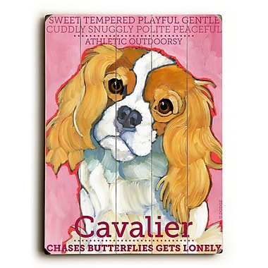 Artehouse LLC Cavalier by Ursula Dodge Graphic Art Plaque