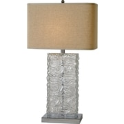 Trend Lighting Corp. Stalagmos 29.5'' H Table Lamp with Square Shade