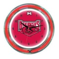 Wave 7 NCAA 14'' Team Neon Wall Clock; Arkansas