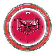 Wave 7 NCAA 14'' Team Neon Wall Clock; Arkansas