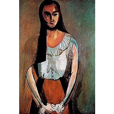 iCanvas ''The Italian Woman'' by Henri Matisse Painting Print on Wrapped Canvas