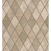 Shaw floors soho rhomboid porcelain mosaic in gascogne for Lamosa ceramic tile
