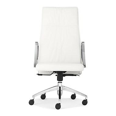 dCOR design Dean High Back Office Chair; White