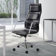 dCOR design Luminary High Back Office Chair; Black