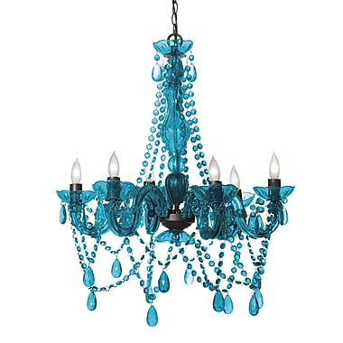 Three Cheers For Girls 6 Light Crystal Chandelier