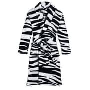 Three Cheers For Girls! Wild Zebra Robe; Medium/Large