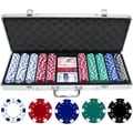 JP Commerce 500 Piece Dice Poker Chip Set
