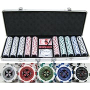 JP Commerce 500 Piece ''Ultimate Poker'' Chip Set