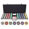 JP Commerce 500 Piece Big Slick 11.5g Poker Chip Set