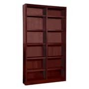Concepts in Wood Double Wide 84'' Standard Bookcase; Cherry