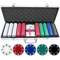 JP Commerce 500 Piece Suited Poker Chip Set