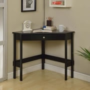 InRoom Designs Writing Desk; Black