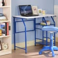 InRoom Designs Computer Desk; Blue