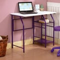 InRoom Designs Computer Desk; Purple