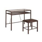 InRoom Designs Writing Desk with Stool