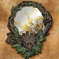 Design Toscano  Forest Spirits Greenman Wall Mirror