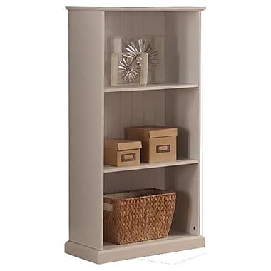 InRoom Designs 43'' Bookcase; White