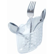 InterDesign Suction Flatware Holder