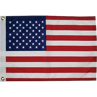 Taylor Made Products Dyed 50-Star American Traditional Flag; 16'' H x 24'' W