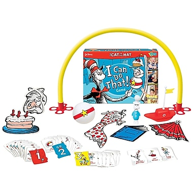 Wonder Forge I Can Do That! Games: Dr. Seuss Cat in the Hat Card Game