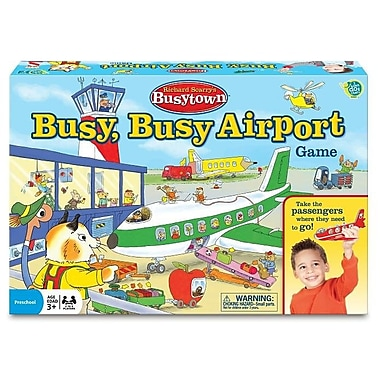 Wonder Forge Richard Scarry's Busytown Busy Busy Airport Game